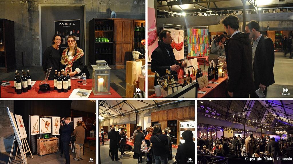 Les grands vins de bordeaux salon art di 39 vin 20 for Salon vin bordeaux