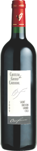 Bottle-Château-Grand-Cardinal-Label-Saint-Émilion-Grand-Cru
