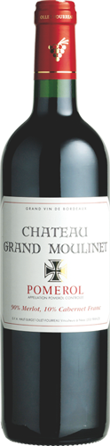 Bottle-Château-Grand-Moulinet-Label-Pomerol