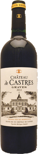 Bottle-Château-de-Castres-Label-Graves