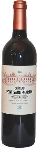Bottle-Pont-Saint-Martin-Label-Pessac-Léognan