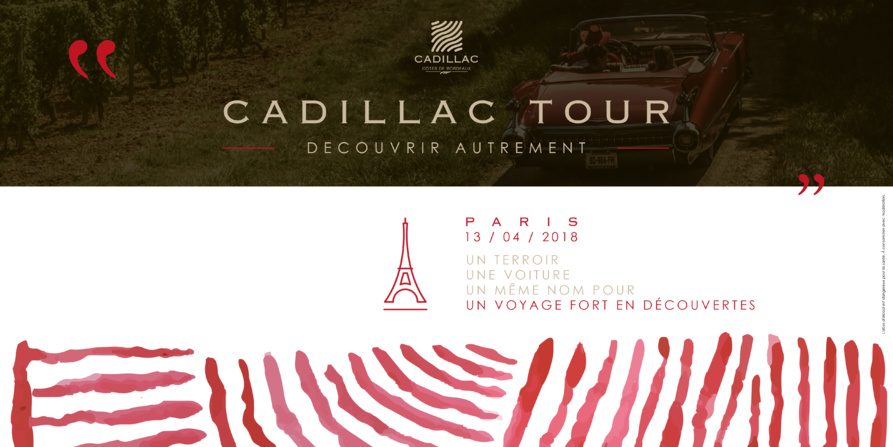 cadillac tour paris 2018